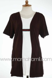 baju menyusui GUCCI pendek coklat   SD 180  large